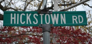 hickstown-road-sign
