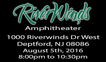 Riverwinds Amphitheater – August 5th