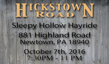 Sleepy Hallow Hayride – October 7th