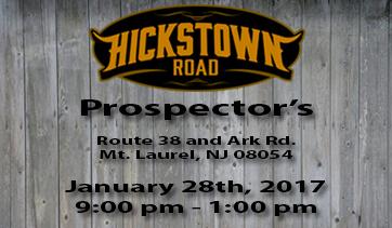 Prospector's – January 28th