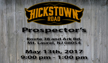 Prospector's – May 13th